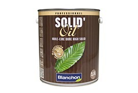 Solid'oil, huile cire dure / Natural 2.5 L